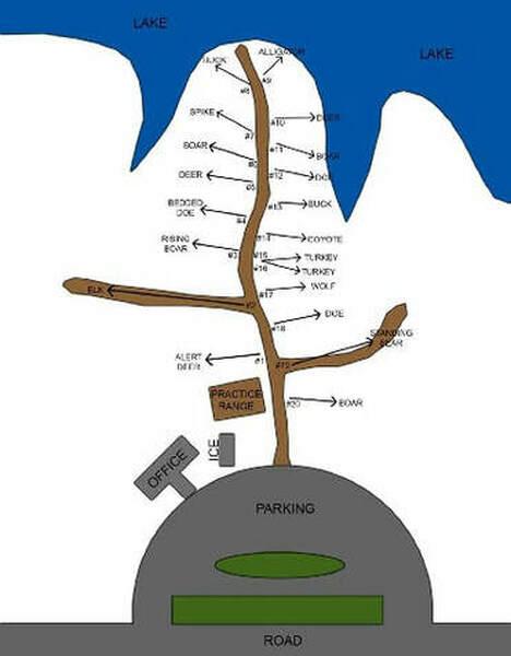 3 d archery range bobby brown parkArchery Range Diagram #16