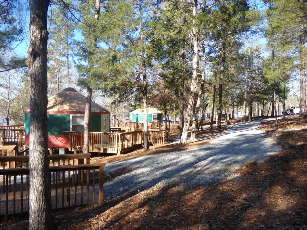 Yurts Bobby Brown Park
